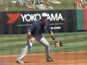Aramis Ramirez Patrolling Third Base