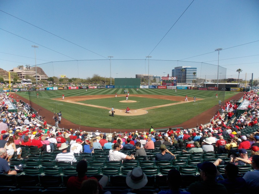 Tempe Diablo Stadium, spring training home of the Angels
