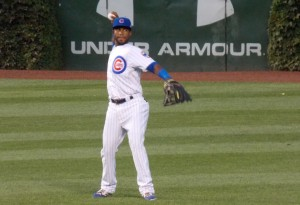 Arismendy  Alcantara warms up prior to September 3rd game vs. Brewers